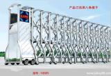 深圳伸縮門廠家直銷免費測量安裝不鏽鋼快速伸縮門