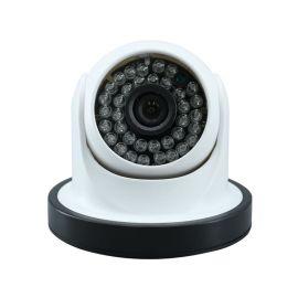 监控摄像头安防摄像机 红外室内高清1200线夜视半球海螺有线探头
