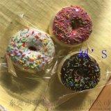 骏泰厂家热销PU仿真甜甜圈 仿真PU甜甜圈挂件