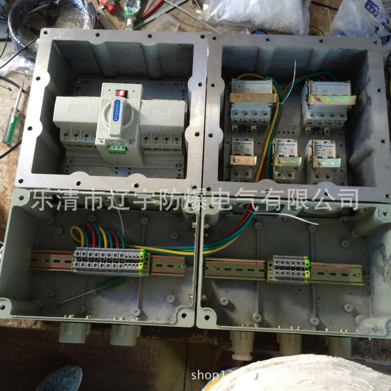 廠家直銷防爆配電箱BXM 防爆鋼板箱帶雙電源 防爆電器箱批發供應