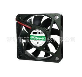 廠家5V12V直流散熱風扇尺寸60*60*15MM6015散熱風扇24V設備風扇