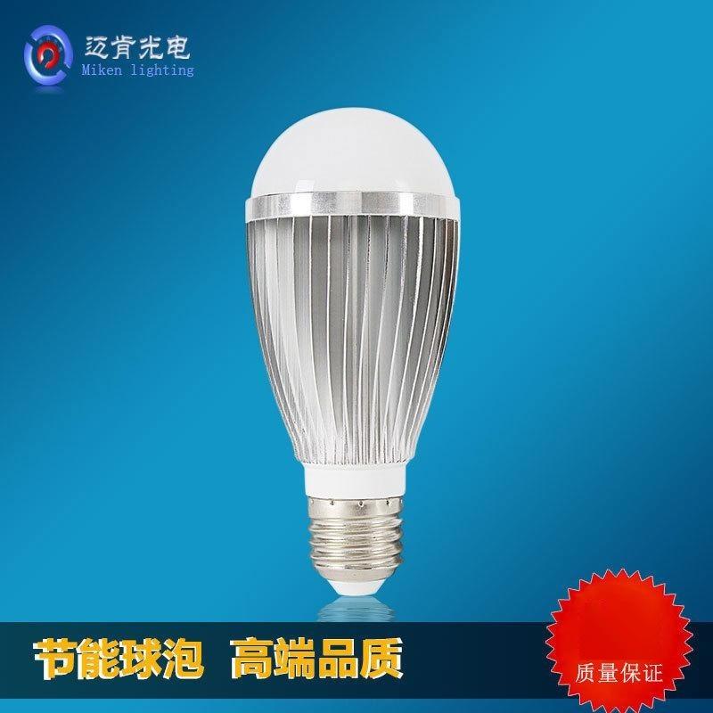廠家直銷家用應急節能塑包鋁led球形燈泡e14e27無鉛鋁球泡燈