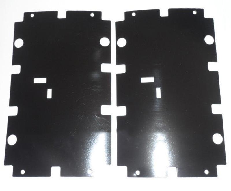 UL认证麦拉片 麦拉绝缘片 高温130度防火绝缘片 PET黑色麦拉胶片