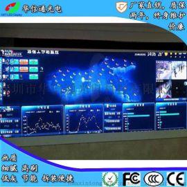 监控安防报告厅P1.25小间距LED电子广告显示屏