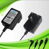 供应18W5V 12V 24V欧.美.英.澳规电源适配器.LED灯饰电源.开关电源.