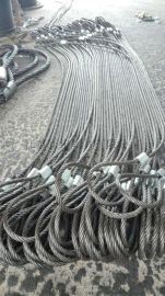 供应压制钢丝绳,压制钢丝绳索具厂家江苏正申