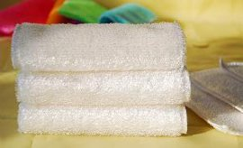 竹纖維洗碗布