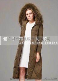**品牌羽绒服尾货|大码折扣女装|秋冬时尚防寒服