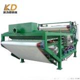 砂场带式泥浆固化处理设备 洗砂污泥浓缩压滤机