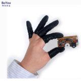 防静电手指套 导电黑色手指套 工业一次性乳胶手指套