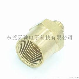 數控車牀加工非標鋁件 車銑複合加工銅接頭 機加工非標件