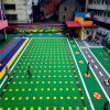 濮阳市气垫悬浮地板篮球场塑胶地板拼装地板