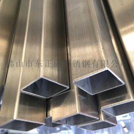 佛山拉丝不锈钢方管,304拉丝不锈钢方管