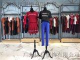 廣州翔月時尚運動裝2019品牌折扣尾貨大碼女裝進貨