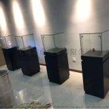 无锡展示柜|玻璃产品展柜|展厅货架