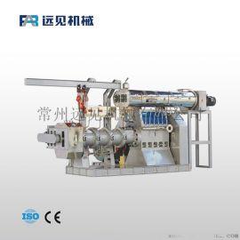 远见机械增强型夹套结构全价饲料膨化机 高产饲料设备