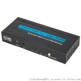 臻泓HDMI切换器五进一出
