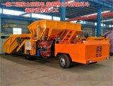 湖北咸寧雙工位噴漿車/雙料斗噴漿車工作方式