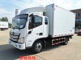 福田欧马可S3排半冷藏车 小型蔬菜配送车