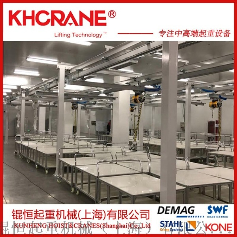 KBK轨道 KBK组合式悬挂单梁起重机 柔性起重机
