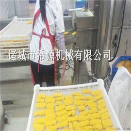 热销脆皮年糕裹糠机 米糕上糠机上面包屑机 操作简单