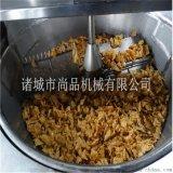 锅巴半自动油炸锅 专业生产锅巴油炸机
