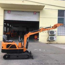 微型小挖机 可换抓木器的小型挖掘机 都用机械挖坑机
