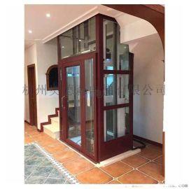 楼梯中间小电梯无机房别墅电梯