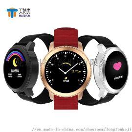 硅胶表带蓝牙运动智能手环计步心率血压睡眠健康手表