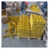 钦州直埋式玻璃钢托架 整体式电缆支架