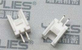 PCB连接器2.0 单排带扣180度电路板连接器