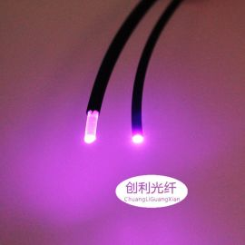 内径0.25外径1.0mm通信传感用 塑料光纤光缆工业自动化传感器光纤