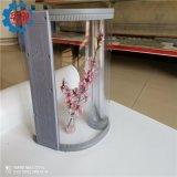 華創PVC軟門簾批發廠家 磁吸透明門簾 磁性自吸塑料門簾材質通透