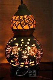 天然葫芦工艺灯饰 - 2