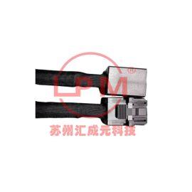 苏州汇成元电子供应SFF-8643系列 Mini SAS HD 3.0 4i 12Gbps 短體180°线缆组件
