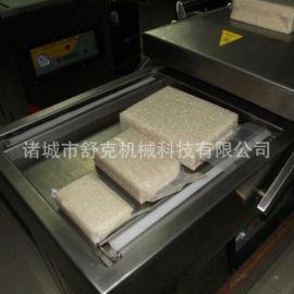米砖真空包装机 大米六面砖型真空包装机 塑料袋封口机器舒克机械