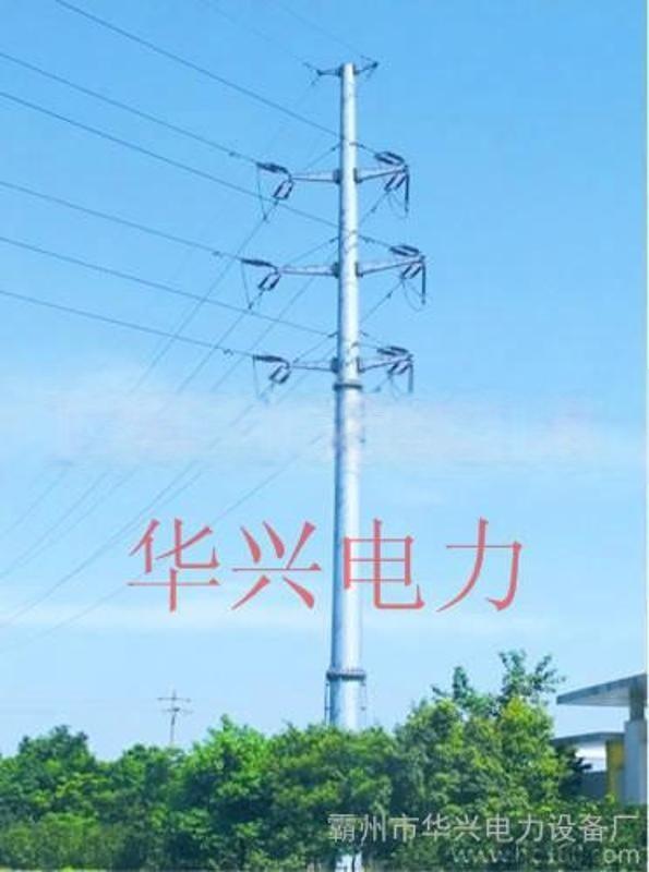 专业生产批发10KV-110KV电力钢管塔、电力钢杆及电力杆