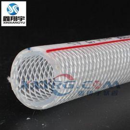 PVC纤维增强软管, 耐高压编织网纹塑料软管, 输油管18