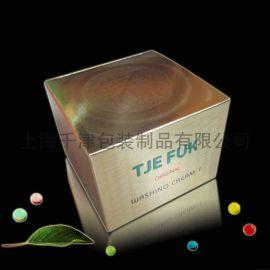 折光压纹金银卡纸包装盒(YJ-BZ003)