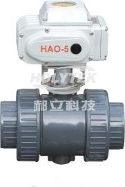 HD50S系列电动PVC球阀