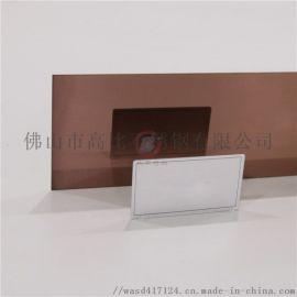 镜面咖啡红不锈钢板价格 304镜面不锈钢装饰板材