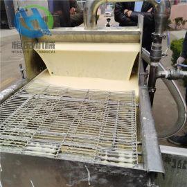 淋浆机系列甘梅红薯条上浆机 节能型薯条油炸机器