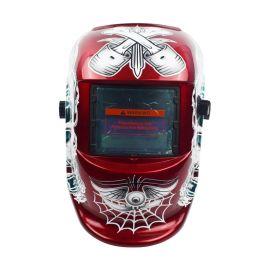 头戴式全脸防护电焊面罩自动变光焊帽面罩