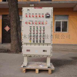 BQX防爆变频器控制柜11kw防爆软启动配电柜