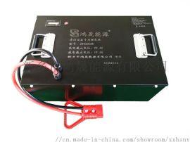 24V100AH手推式洗地机用锂电池组生产厂家