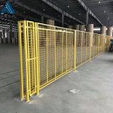 蓝色车间隔离网/工厂仓库隔离栅