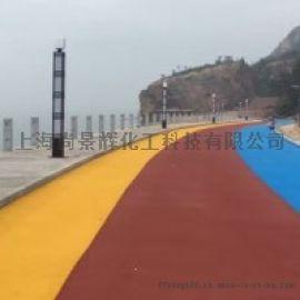 上海薄层喷涂沥青改色路面