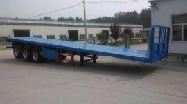泰达牌3轴40英尺集装箱平板运输半挂车