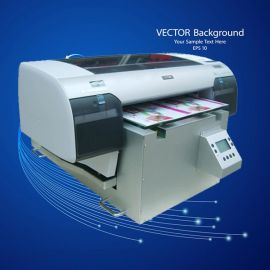 广东省 万能平板打印机加长版A2型420*600mm 全彩8色成像机