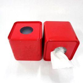 (厂家供应)马口铁方形纸巾盒 婚庆礼品纸巾盒 抽纸铁盒铁盒,收纳铁盒